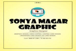 Sonya Magar Graphic Shirwal